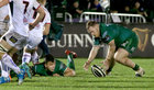 Connacht v Ulster Guinness PRO14 game at the Sportsground.<br /> Connacht's Conor Carey and Tom Farrell