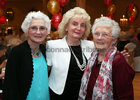 Judith Hesford, Monica Duffy and Margaret Dowling at the Renmore Active Retirement Association 20th anniversary dinner in the Galway Bay Hotel.