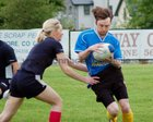 Action from week 4 of Tag Rugby at Corinthians<br /> <br /> Martin Neary of Rugger Duckies