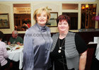 Noranne McMahon and Martina Lennon, at the Mervue Ladies  Social Club Golden Jubilee dinner in the Park House Hotel,