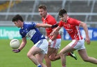 Tuam Stars v Killannin Senior Football Championship game at the Pearse Stadium.<br />