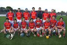 The St. Thomas team which defeated Liam Mellows  in the Senior Hurling Championship at Athenry.<br /> Back Row(left to right).<br /> Shane Cooney, James Regan, Richard Murray, Conor Cooney, Patrick Skehill, Darragh Burke, Enda Tannion.<br /> <br /> Front Row.<br /> David Burke, Bernard Burke, Cian Kelly, Kenneth Burke, Cathal Burke, Anthony Kelly, Robert Murray, Sean Burke.<br />