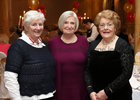 Joan Stewart, Shiela O'Flynn and Anne Nugent at the Renmore Active Retirement Association 20th anniversary dinner in the Galway Bay Hotel.