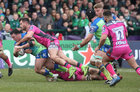 Connacht vs Gloucester European Rugby Challenge Cup qurter final at the Sportsground.<br /> Connacht's Denis Buckley