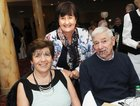 <br /> Martha and John Cotterwith Eileen Higgins, at the Claddagh Senior Citizens dinner in the Galway Bay Hotel.