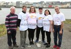 Declan Kelly, Mervue, John Barden, Knocknacarra, Claire Long, Claregalway, Declan Collins, Tuam, and Maureen and Tommy O'Toole, Carnmore, after taking part in the 2019 Galway Memorial Walk in aid of Galway Hospice.