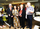 <br /> Anne Fitzpatrick cuts the tape to mark the opening of a new Dining Room at Galway Hospice, Also in the picture are Keith Finnegan, Galway Bay FM, Maura Derrane,  RTE; Barbara Derrane, Mary Nash  and Pat Fitzpatrick,