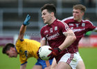 Galway v Roscommon Minor Football semi-final at the Pearse Stadium.<br /> Galway's Evan Murphy