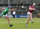 Galway v Limerick Allianz Hurling League semi-final in Limerick.<br /> Galway's Joe Canning and Limerick's Gavin O'Mahony