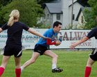Action from week 4 of Tag Rugby at Corinthians<br /> <br /> Simon Stokes of Rugger Duckies