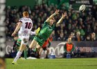Connacht v Ulster Guinness PRO14 game at the Sportsground.<br /> Connacht's Kieran Marmion and Ulster's Peter Nelson