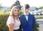 Ava Naughtan, Ardrahan and Peter Monaghan, Gort,  graduated at the Gort Community School.