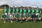 The Liam Mellows team defeated by St.Thomas in the Senior Hurling Championship at Athenry.<br /> Back Row(left to right).<br /> John Lee, Brian Howley, Alan Clancy, Niall McInerney, John O'Halloran, Shane Minton, Bernard Fahy, Brian Lee, Tadhg Haran.<br /> <br />  Front Row.<br />  John Hughes, Paddy Gannon, David Collins, Ross Bennis, Dave Fahy, Michael Conneely, Sean Morrissey.