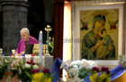 Bishop Brendan Kelly celebrates Mass at the Solemn Novena to Our Lady of Perpetual Help at Galway Cathedral this week.