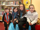 Sean, Rita, Mary Kate and Ellen Keenan from Roscam at the presentation of certificates of Achievement to children who participated in the Summer Stars Library Reading Adventure at Ballybane Library.