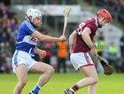 Galway v Laois Allianz Hurling League Division 1B Round 1 game at the Pearse Stadium.<br /> Tomas Monaghan, Galway, and Laois
