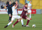 Galway United v UCD League game at Eamonn Deacy Park.<br /> Galway United's Ryan Connolly and UCD's Dan Tobin