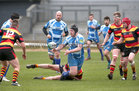 Our Lady's Boys Club RFC v Sligo RFC Connacht Junior Plate final at the Sportsground.<br /> Myles Upton, OLBC RFC