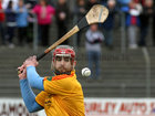 Tommie Larkins, Dara Starr, during the Senior Hurling Championship at Athenry.