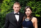 <br /> Brendan Conneely and Aine Mullen, both of Inverin, at the Colaiste Colm Cille Debs Ball in the Westwood House Hotel.