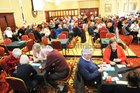 A general view of the West of Ireland 80th Bridge Congress in the Ardilaun Hotel.<br />