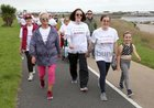 Participants in the 2019 Galway Memorial Walk in aid of Galway Hospice at South Park last Sunday.