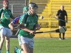 Liam Mellows, Dave Fahy,<br /> and<br /> St. Thomas, David Burke,<br /> during the Senior Hurling Championship at Athenry.
