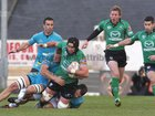 Connacht v Aironi RaboDirect PRO12 game at the Sportsground.<br /> Connacht's John Muldoon