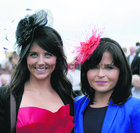 Dr Katie and Dr Lisa McAnena, Knocknacarra,  went racing at Ballybrit on Friday.