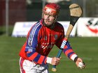 <br /> St. Thomas, Cathal Burke,<br /> during the Senior Hurling Championship at Athenry.