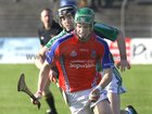 Liam Mellows, Brian Lee,<br /> and<br /> St. Thomas, David Burke,<br /> during the Senior Hurling Championship at Athenry.