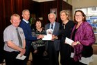 <br /> At the launch of the 79th annual Bridge Congress which will be held in the Ardilaun Hotel over the Easter Weekend, were Martin Kearney, Mor Oil; David Walsh, Lapteck ; Bernie Finan, Treasurer; Rhona Bolger, Congress  President and Heather Gately, Sponsor.