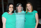 <br /> Priscella and Maureen Purtill, with Katherine Creane, all of Ballybrit,  at the Parkinsons Association  St. Patricks Night Ceili in the Clayton Hotel.