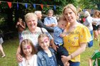 <br /> Bernadette Cummins, Shantalla, with her daughter Emma and grandchilren Lana O Connor, Nihloe and Danial. at the St. Nicholas Garden Fete at the Rectory Taylors Hill. <br />