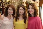 Mary Fallon, Breege Gibbons and Aoife Connolly from Roscommon at the Lough Rea Hotel & Spa Wedding Showcase.