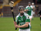 Sarsfields, Sean Kelly, during the Senior Hurling Championship at Athenry.