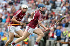 Galway v Cork All-Ireland Minor Hurling Championship final at Croke Park.<br /> Galway's Donal Mannion