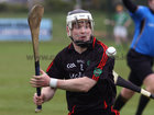<br /> Tommie Larkins, Colm Flynn, during the Senior Hurling Championship at Athenry.
