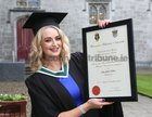 Amy Talbot from Spiddal after she was conferred with the degree of B A, Honours, at NUI Galway