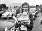 Jacqueline Duncan from Ballinasloe was  a first prize winner at Ballinasloe Show on 5 October 1969