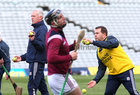Galway v Tipperary All-Ireland Senior Championship Quarter-Final at the LIT Gaelic Grounds, Limerick.<br /> Galway manager Shane O'Neill