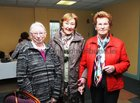 <br /> Mary Sweeney, Pauline Fitzgerald and Mary Hackett, at the Salthill Active Retirement Association celebrating their 20th anniversary at Leisureland Salthill.