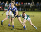 St Joseph's College v St Nathy's College, Connacht GAA Post Primary Senior B Football Final at the Connacht GAA Centre of Excellence, Bekan.<br /> Daniel O'Flaherty, St Joseph's College, and , St Nathy's College