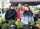 <br /> Orla Audley, Ardrahan, with her sons Jihn and Conor,  at the Claregalway Castle Spring,  Garden, Food and Craft Fair on Sunday.