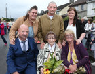 100 years old Eileen Molloy with some of her family at her birthday party in Davis Road. Seated with her are her son Tommy and daughter Maureen Geary. Behind are her grandchildren Christina Molloy, Dylan Molloy and Elaine Geary.