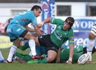 Connacht v Aironi RaboDirect PRO12 game at the Sportsground.<br /> Ray Ofisa playing his last game with Connacht<br />