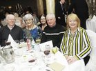 <br /> At the Claddagh Senior Citizens dinner in the Galway Bay Hotel. were: Michael Quinn, Theresa McNamara, Cllr Catherine Connolly, Joe and Maureen Geary,