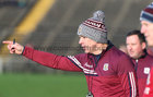 Galway v Mayo FBD Insurance Connacht Football competition 2020 semi-final at MacHale Park, Castlebar.<br /> Galway manager Padraig Joyce