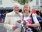 Pat and Anne O'Toole, Munster Ave, at Ballybrit last night.