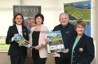 Pictured at the launch of the Galway Bay Golf Resort Ladies Club Am Am, sponsored by Renvyle House Hotel, were, from left: Noirin Gohery, Lady Captain, Galway Bay Golf Resort, Zoe Fitzgerald, Renvyle House Hotel, Tony Hiney, RNLI, and Kay Hayes, Lady President, Galway Bay Golf Resort. The RNLI is the chosen charity to benefit from the Am Am which will be held on Sunday April 28. Teams of 4 are €120.<br /> Call 091 790711 to book.